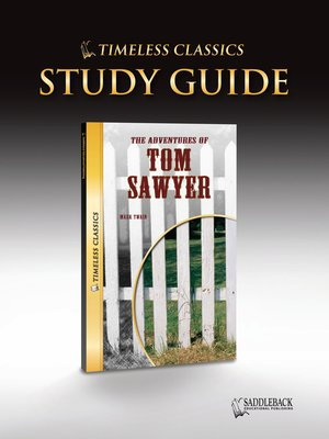 cover image of The Adventures of Tom Sawyer Study Guide